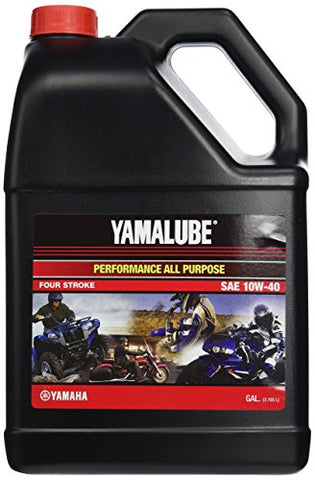 Yamalube All Purpose 4 Four Stroke Oil 10w-40 1 Gallon