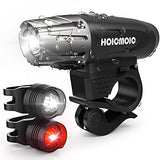 Hoicmoic USB Rechargeable Bike Lights, Bright Waterproof LED Bicycle Front and Rear Lights for Kids Men Women Safe Cycling, 1 Headlight, 1 Red Taillight and 1 White Bicycle Light for Versatile Usages - Gasbike.net