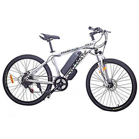 Cyclamatic Power Plus CX1 Electric Mountain Bike with Lithium-Ion Battery - Gasbike.net