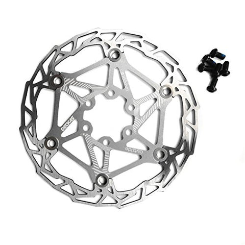 Gymforward Stainless Steel Floating Bicycle Disc Brake 160MM Bike Rotor Mountain Cycling Parts Accessories - Gasbike.net