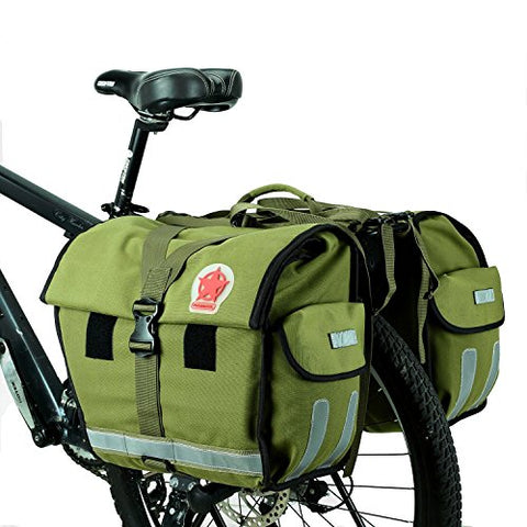 ArcEnCiel Water-Resistant Bicycle Carrier Rack Pannier Bag - Gasbike.net