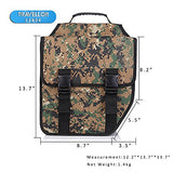 Travellor Mountain Bicycle Double Luggage Pannier bag With Rainproof Cover(Camo)