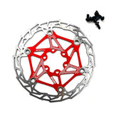Gymforward Stainless Steel Floating Bicycle Disc Brake 160MM Bike Rotor Mountain Cycling Parts Accessories