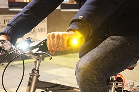 WingLights Fixed - Turning Signals for Bike / Blinkers for bicycle
