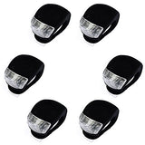 InnoLife- 6Pcs Silicone Waterproof Super Frog LED Bicycle bike Head Front Light