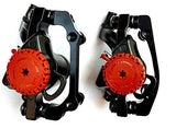 BlueSunshine MTB BB5 Mechanical Disc Brake Front and Rear 160mm whit Bolts and Cable - Gasbike.net
