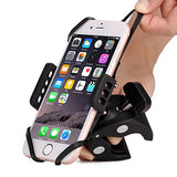 Bike & Motorcycle Cell Phone Mount - Patekfly Bike Mount For iPhone 7 (5, 6s 6Plus, 7Plus,8,8Plus), Samsung Galaxy or any Smartphone & GPS - Universal Mountain & Road Bicycle Handlebar Cradle Holder. - Gasbike.net