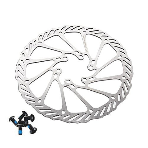 BlueSunshine Cycling Bicycle Bike Brake Disc Stainless Steel Rotors 160mm G3 With Bolts - Gasbike.net
