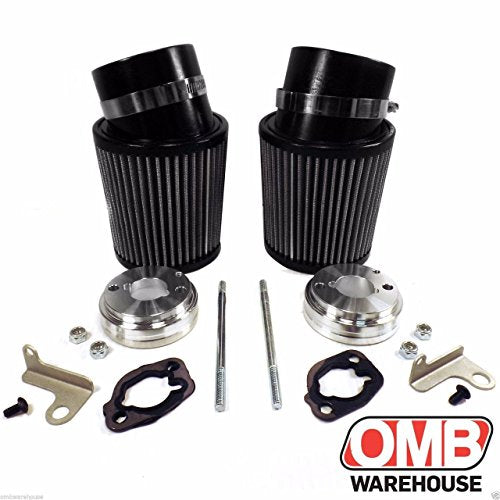 (2) High Performance Air Filter Intake Kits Predator 212cc BSP Clone GX200  196cc