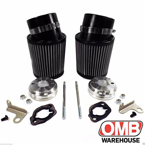 (2) High Performance Air Filter Intake Kits Predator 212cc BSP Clone GX200 196cc - Gasbike.net