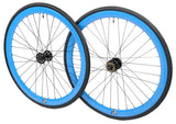 Retrospec Bicycles Mantra Fixed-Gear/Single-Speed Wheelset with 700 x 25C Kenda Kwest Tires and Sealed Hubs - Gasbike.net