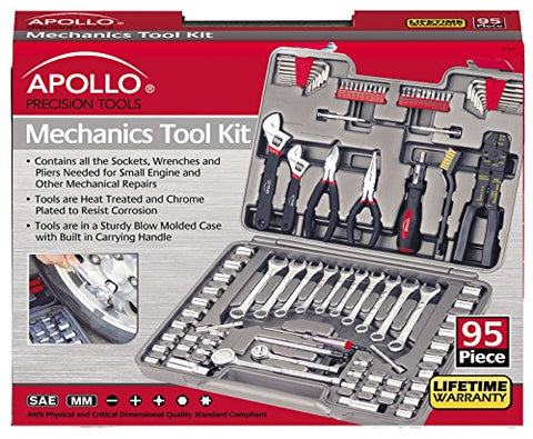 Apollo Tools 95 Piece Mechanics Tool Kit - Gasbike.net