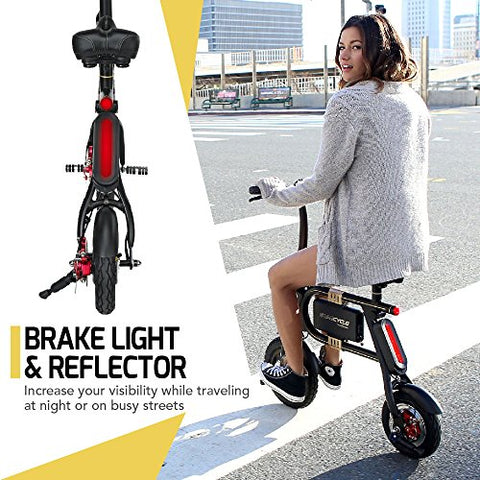 SWAGTRON SwagCycle E-Bike – Folding Electric Bicycle with 10 Mile Range, Collapsible Frame, and Handlebar Display - Gasbike.net