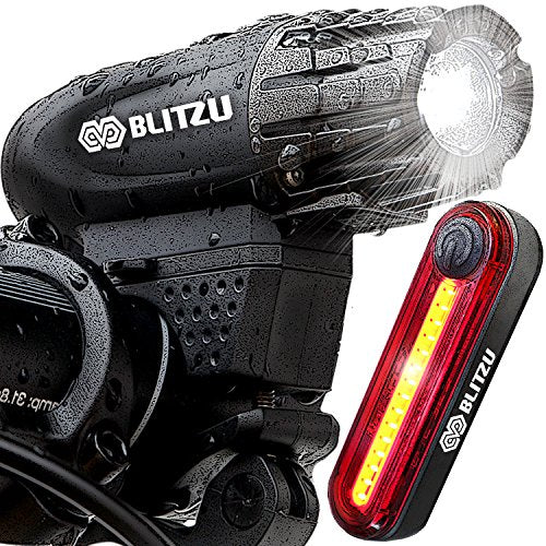 Blitzu Gator 320 Pro Usb Rechargeable Bike Light Set