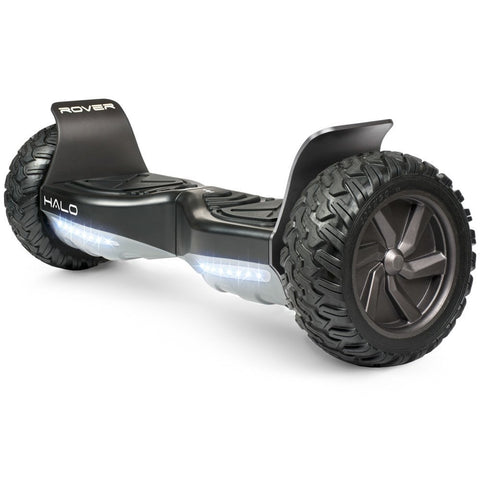 Official Halo Rover Hoverboard - Safety Certified UL 2272 - Halo Bluetooth Speakers - Halo Rover Mobile APP - Free Carry Case - LG FireSafe Battery - Halo 8.5 Inch Non Flat Tires - Gasbike.net