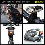 BLITZU Gator 390 USB Rechargeable LED Bike Light Set, Bicycle Headlight Front Light & FREE Rear Back Tail Light. Waterproof, Easy To Install for Kids Men Women Road Cycling Safety Commuter Flashlight - Gasbike.net