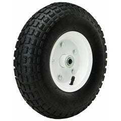 13 in. Heavy Duty Pneumatic Tire with White Hub
