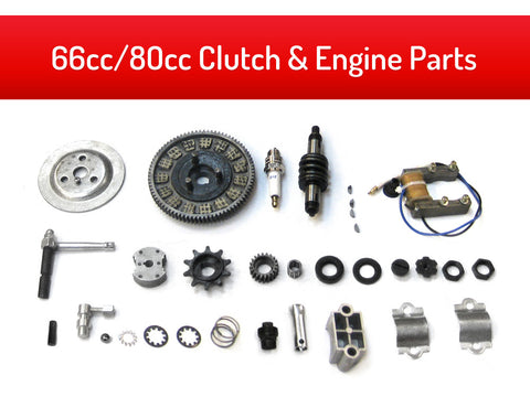 66cc/80cc Clutch & Engine Parts Kit - Gasbike.net