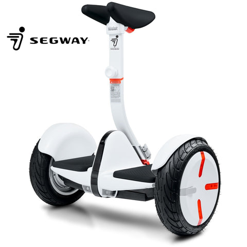 Segway miniPRO Smart Self Balancing Personal Transporter with Mobile App Control, White - Gasbike.net
