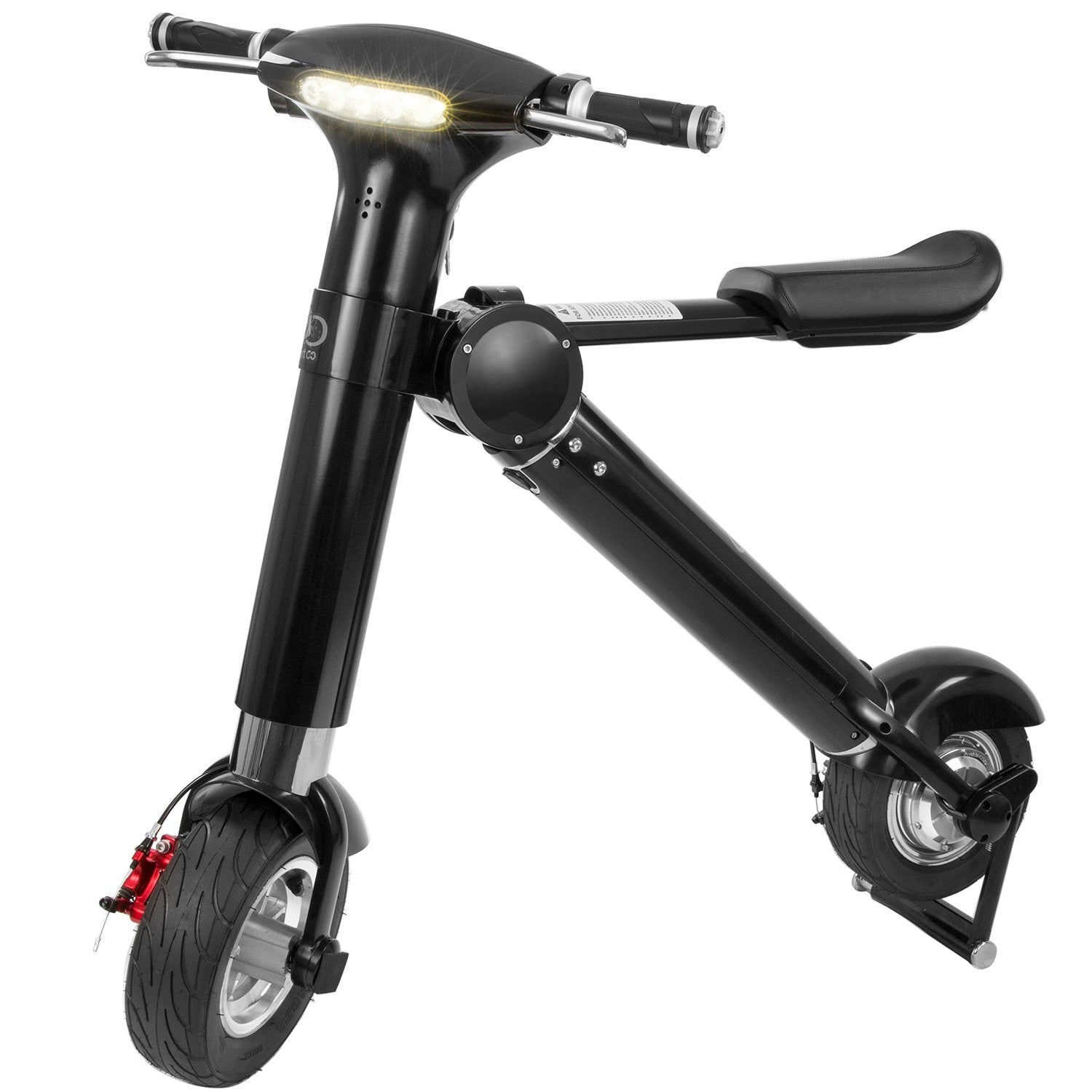 Aobsmartgo Folding Electric Scooter W 22 Mile Range And 20 Mph Top