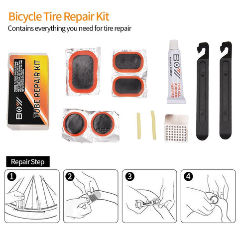 AQQEF Bike Repair Kit, Bicycle Repair Kits Bag With Portable Bike Pump  16-In-1 Bike Multi Tool Kit Sets - Gasbike.net