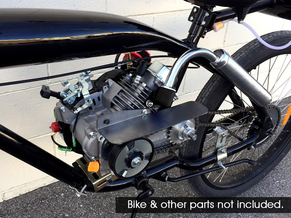 4-Stroke 79cc Transmission Motorized Bicycle For Predator Engine