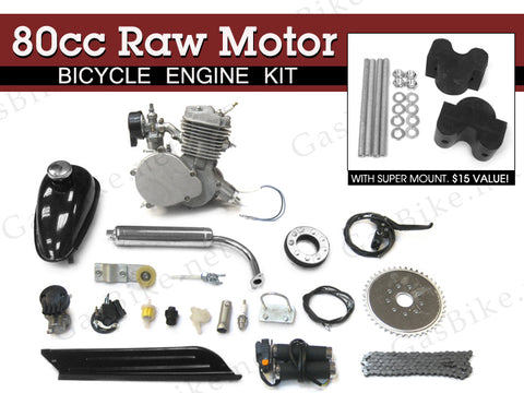 80cc Raw Motor Bicycle Engine Kit - Gasbike.net