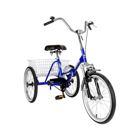 Mantis Tri-Rad Folding Adult Tricycle - Gasbike.net