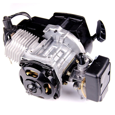 AURELIO TECH 49cc 2-Stroke New Motor Engine Pocket Mini Bike Scooter ATV H EN02 - Gasbike.net