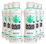 detoxwater™ Bioactive Aloe Water Original Lychee & White Grape 16 Fluid Ounces, Pack of 6