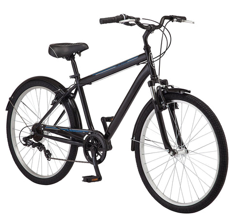 Schwinn Men's Suburban Bike, 26-Inch, Black - Gasbike.net