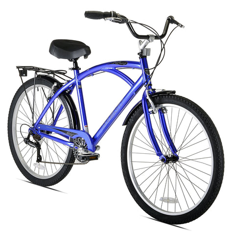 Kent Bay Breeze 7-Speed Men's Cruiser Bicycle, 26-Inch - Gasbike.net