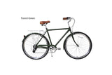 "Motorized Bicycle Greenline CB-8-700 x 54 - Men 28"" Steel 8-Speed Shimano ALTUS 700 x 35C 54cm Beach Cruiser (Bike Only)"