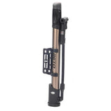 Portable Bicycle Bike Tire Air Pump - Light Gold + Black (FSLV)
