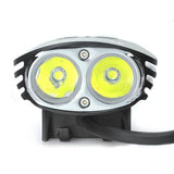 MagicShine MJ-880 1720LM White Bike Light Set with 6.6 Ah Battery (FSLV)