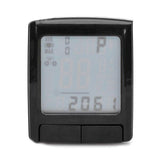 "1.5"" LCD Cycling Computer w/ Heart Rate Monitor / Speedometer / Clock / Thermometer   (FSLV)"