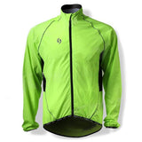 SPAKCT Bicycle Cycling Reflective Strip Long Sleeves Jersey - Luminous Green