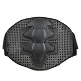 Amt Square Hole Style Cycling Race Back Waist Support for Motorcycle / Bicycle / Sports - Black (FSLV)