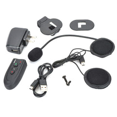 Motorcycle Helmet Bluetooth V2.0 Headset - Black (FSLV)