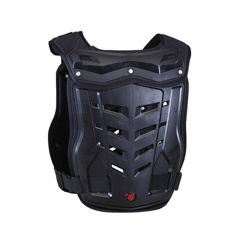 Scoyco Motorcycle Riding Protective Body Armor - Black (M) (FSLV)