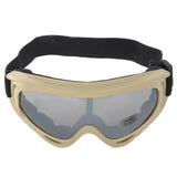 Outdoor Sports Windproof Tactical Goggles - Earthy (FSLV)
