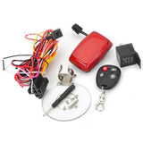 GPS Convenient Water Resistant GSM / GPRS / GPS Tracker for Motorcycle / Scooter - Red (FSLV)