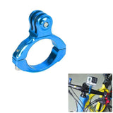 Universal Aluminum Bicycle Mount Clip for GoPro SJ4000 - Blue (FSLV)