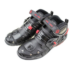 PRO-BIKER Motorcycle Off-Road Racing Shoes - Black
