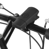 2-Mode White Light Bike Lamp - USB, Black (FSLV)