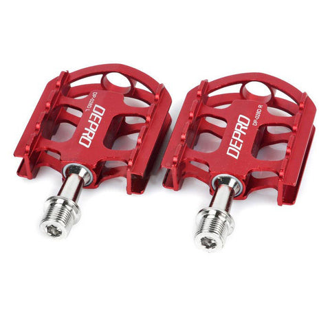 DEPRO Ultra-Light Magnesium Alloy Bicycle Bike Pedals - Red (Pair) (FSLV)