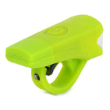 2-Mode White Light Bike Lamp - USB, Green (FSLV)