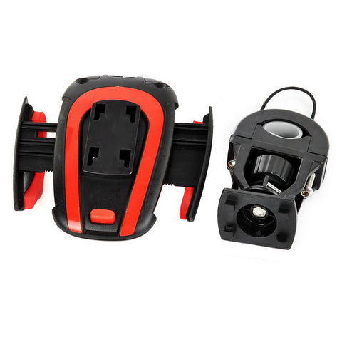 Bicycle / Electromobile / Motorcycle Mount Holder - Red + Black (FSLV)