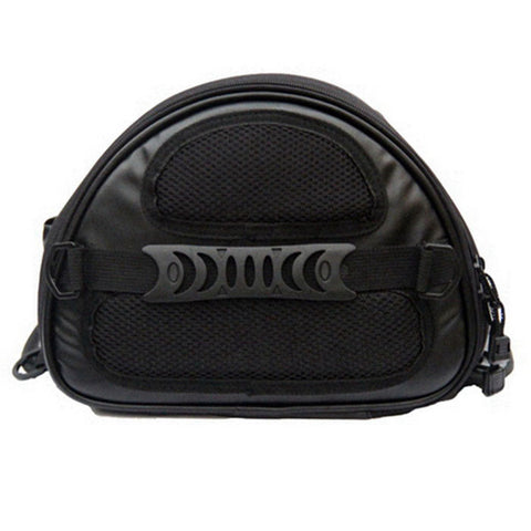 RIDING TRIBE G-XZ-017 Water Resistant Motorcycle Tail Bag - Black - (FSLV)