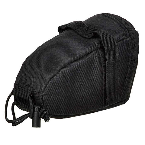 Yanho YA099 Bike Polyester Saddle Bag w/ Reflective Strip - Black (FSLV)
